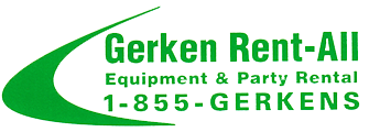 Visit Gerken Rent-All for all your rental needs