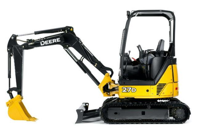 Where to find MINI EXCAVATOR 27D OR 26G JOHN DEERE in Kansas City