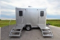 Where to rent PORTABLE RESTROOM TRAILER 2 UNIT in Kansas City KS
