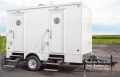 Where to rent PORTABLE RESTROOM TRAILER 4 UNIT in Kansas City KS