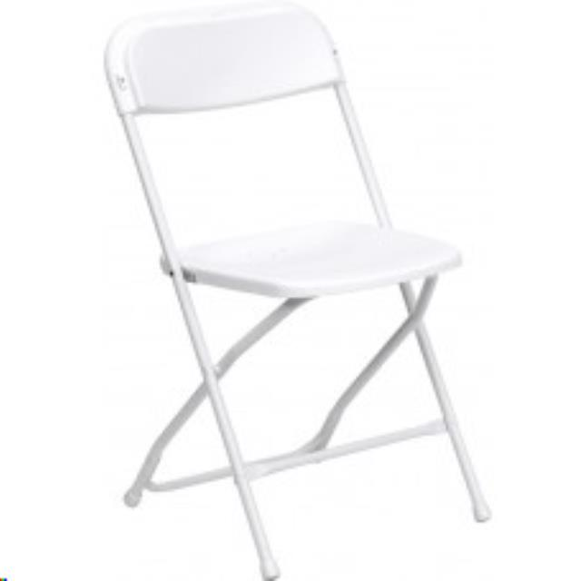 Where to find CHAIRS WHITE VINYL WEDDING in Kansas City