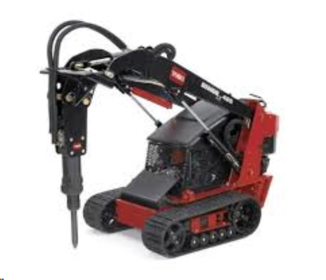 Where to find JACKHAMMER   MINI SKID STEER COMBO in Kansas City